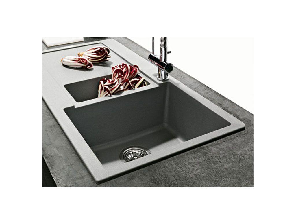 Maris Lavello vasca singola L970 con vaschetta | Kitchens ...