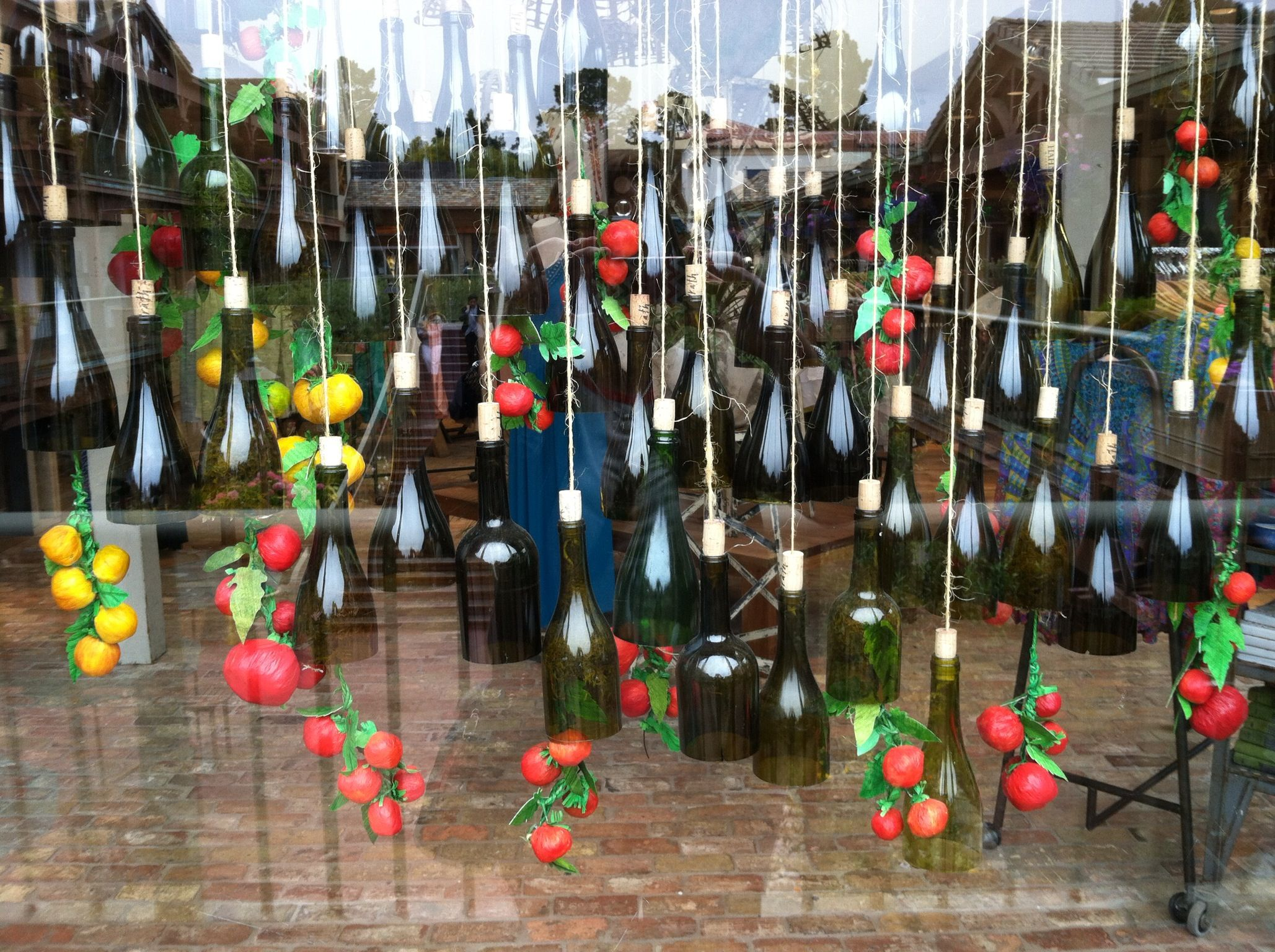 Another Incredible Anthropologie Window Display Hanging