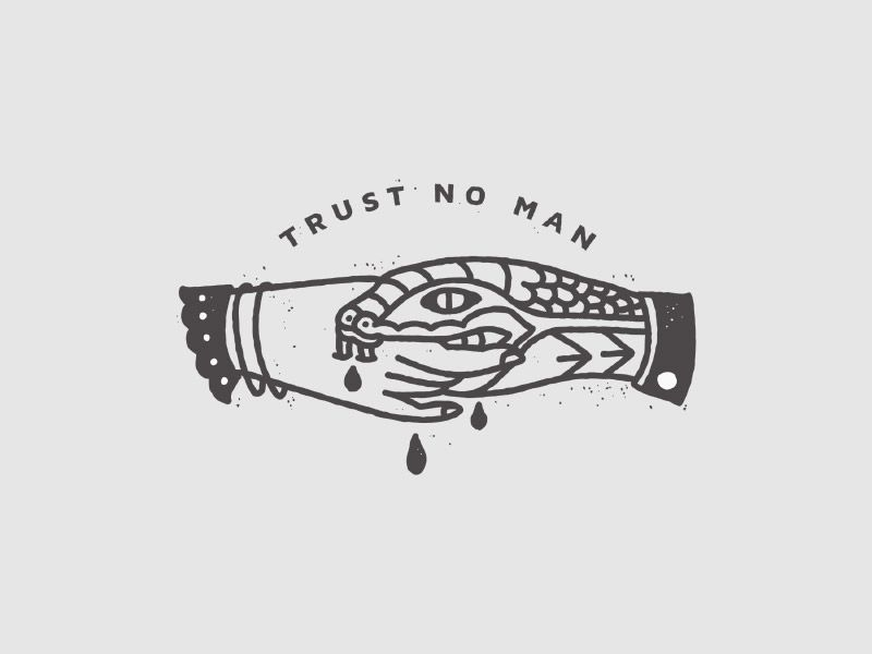 Trust No Man by Corinne Alexandra