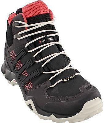4cada5d10 Adidas Outdoor Terrex Swift R Mid GTX Hiking Boot - Women s Black Black  Tactile