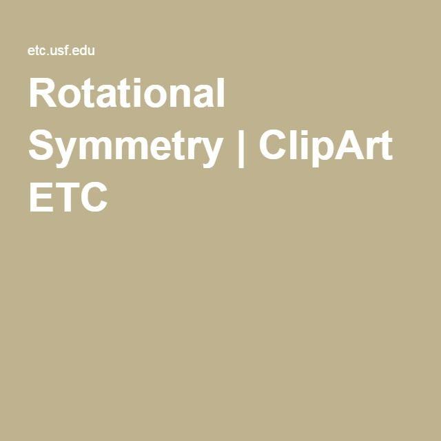 Rotational Symmetry | ClipArt ETC