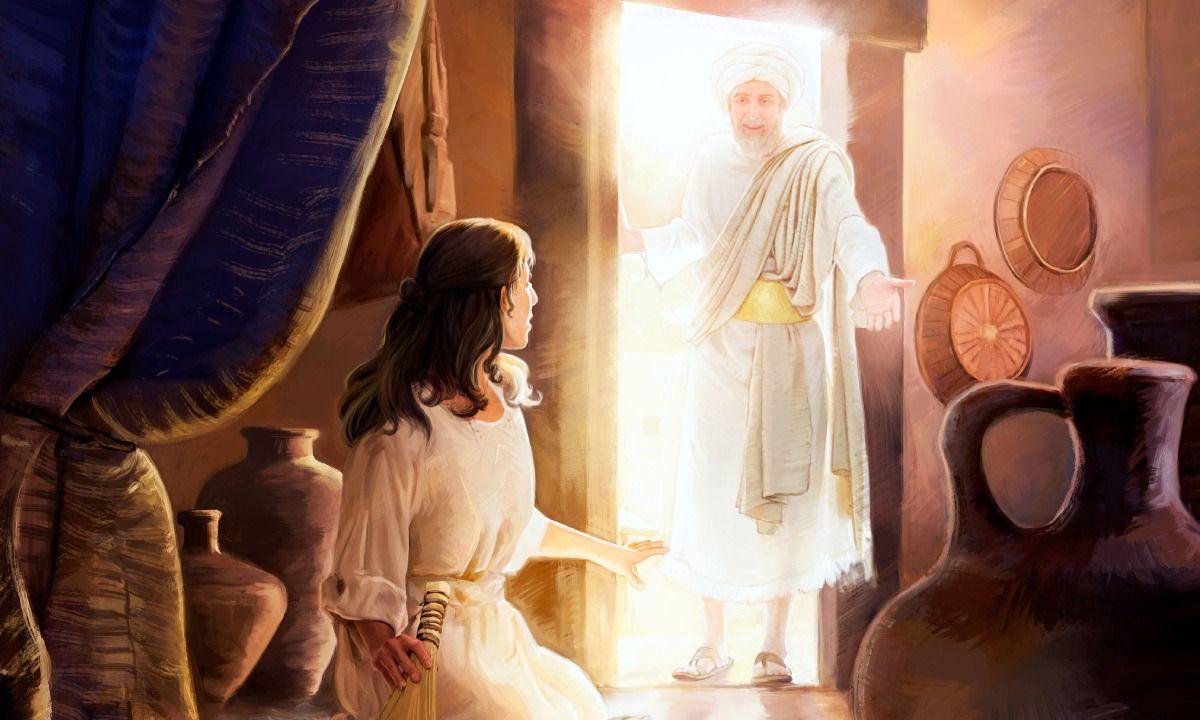 El ángel Gabriel visita a María | Fe verdadera | Angel gabriel, Pictures of  mary, Gabriel