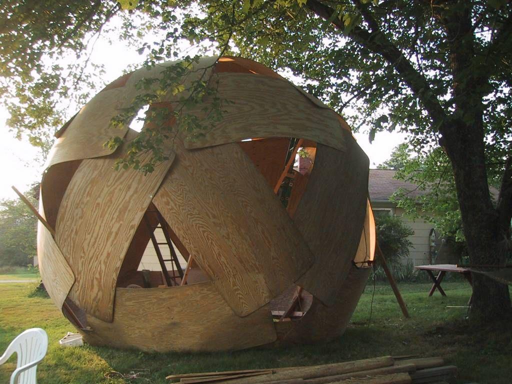 Sphere Dome Shed Google Search Cob Hut Design