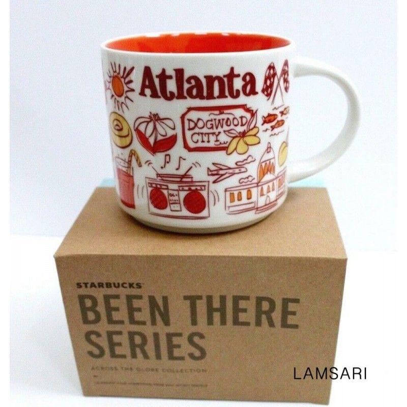Starbucks Coffee Been There Atlanta Georgia Ceramic Mug Ornament New with Box