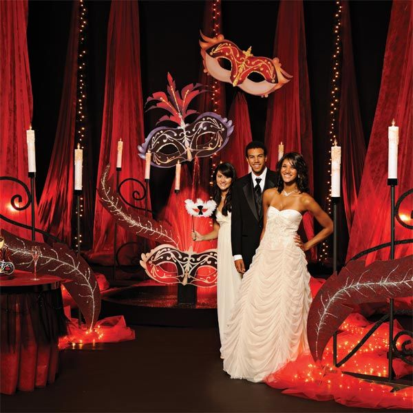 Illusions Hour Budget Prom Theme
