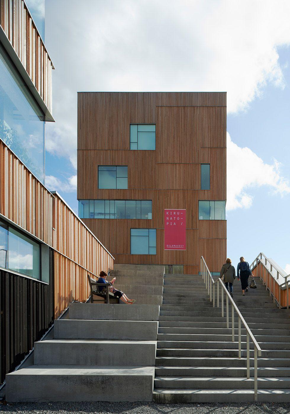 Henning Larsen Architects Completes Umeå Art Museum   Photo: Åke E:son Lindman   Bustler.net