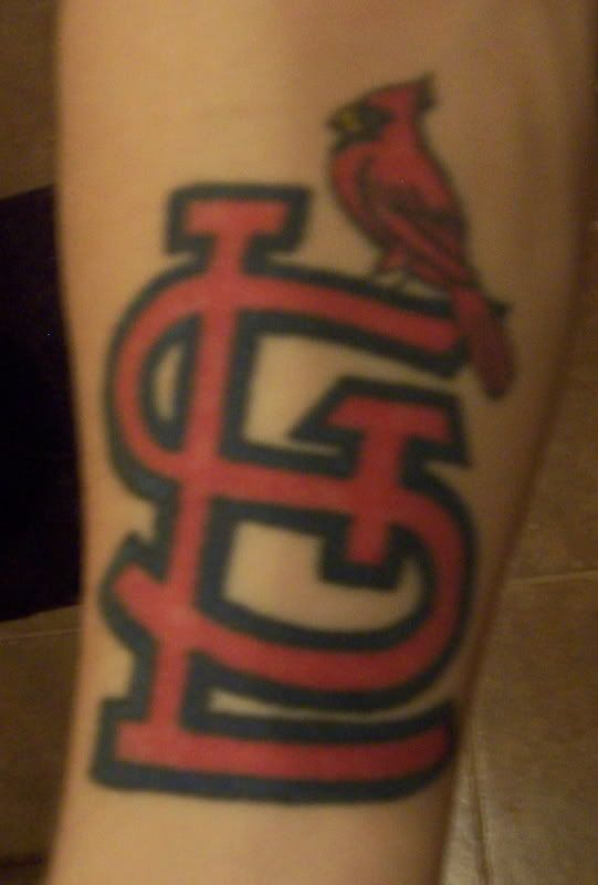 st. louis cardinals tattoo designs | 2007 Sport Red Chevrolet Cobalt ...