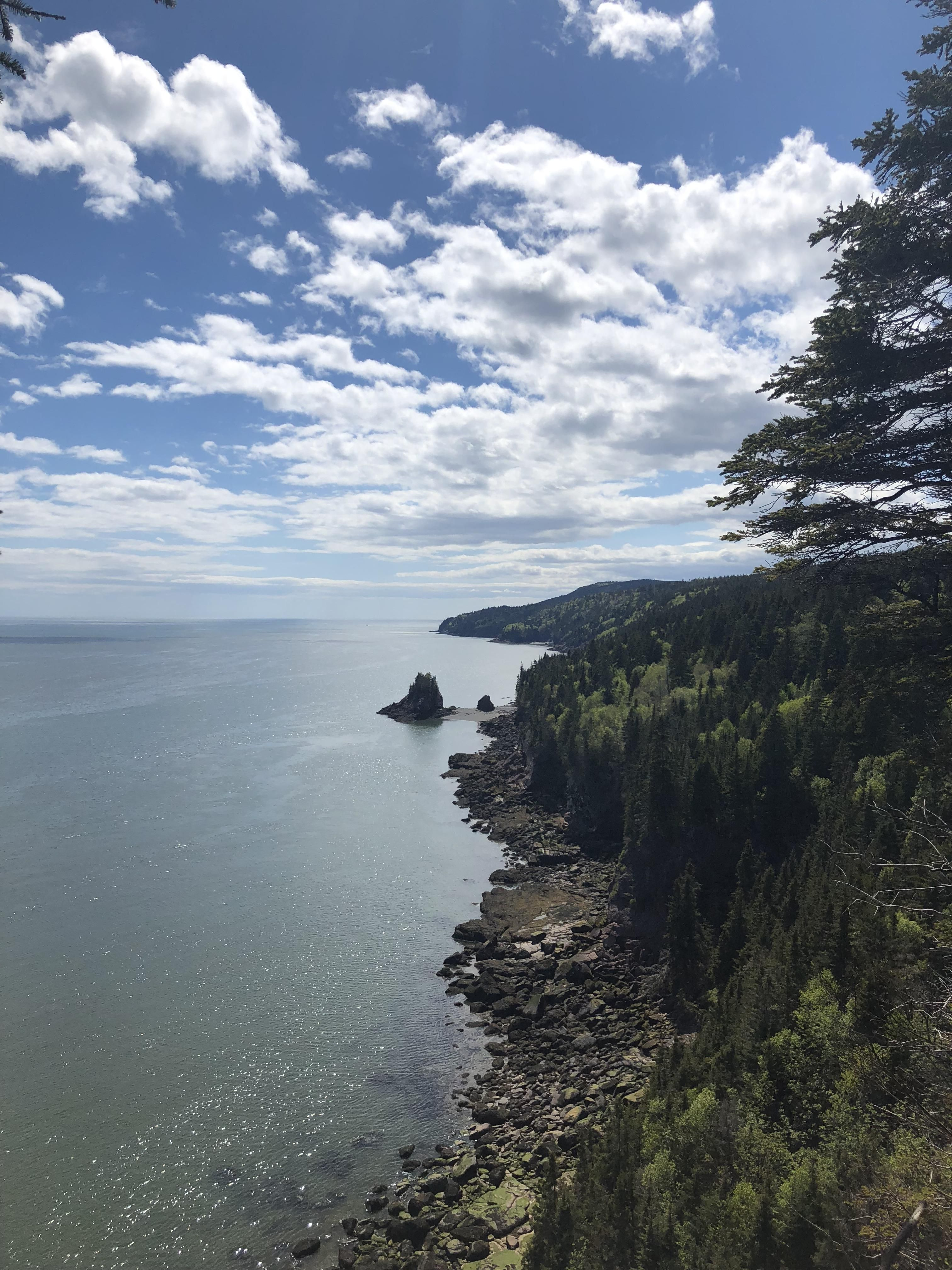 Bay Of Fundy Camping >> Squaws Cap From Matthews Head Bay Of Fundy New Brunswick
