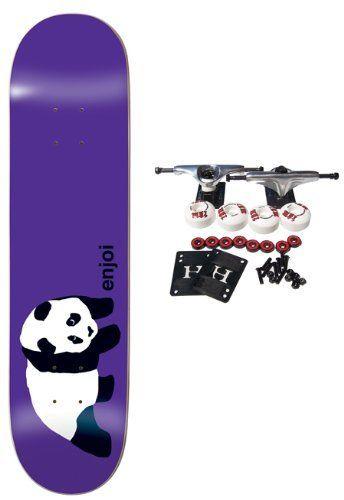 0db5c79f659 ENJOI Skateboards PURPLE OG PANDA Complete SKATEBOARD 7.75 by Enjoi.  $62.99. Enjoi Complete Skateboard