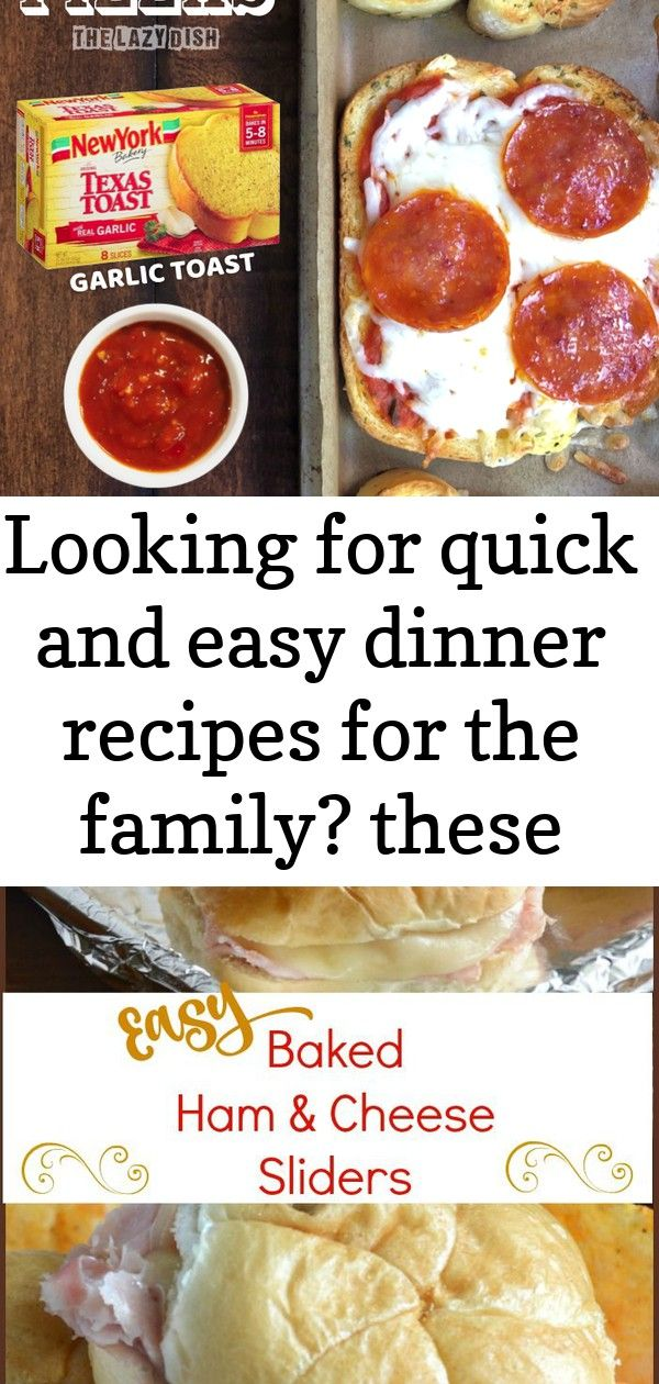Looking for quick and easy dinner recipes for the family these mini garlic toast pizzas are perfe 1 Looking for quick and easy dinner recipes for the family These mini ga...
