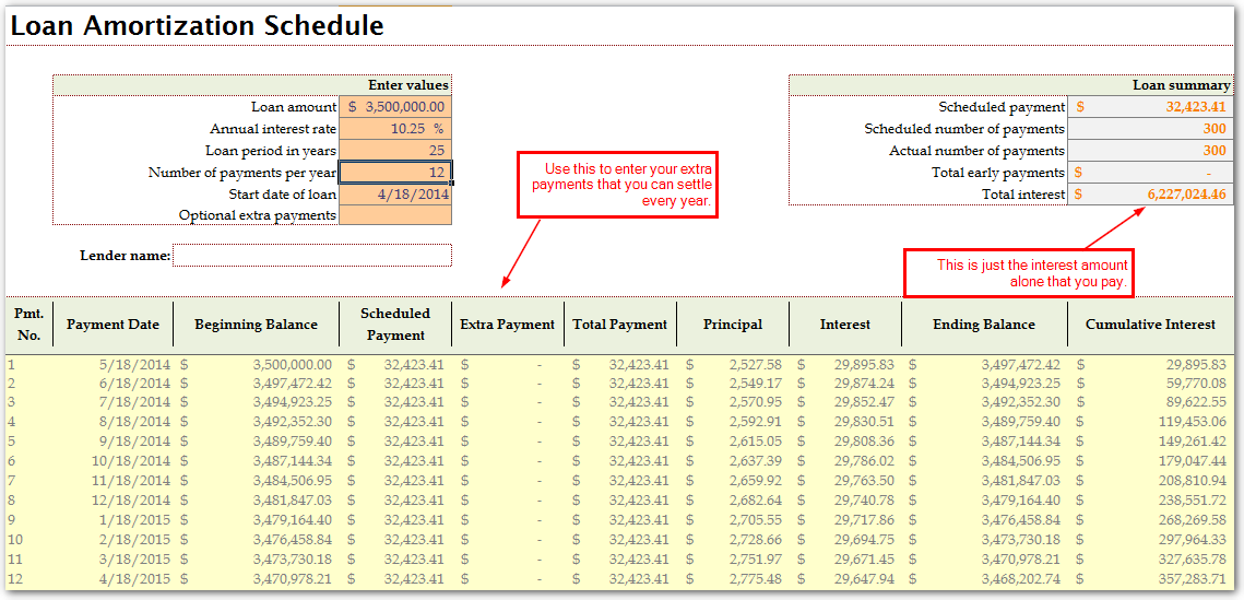 microsoft  excel  home  loan  calculator that can help