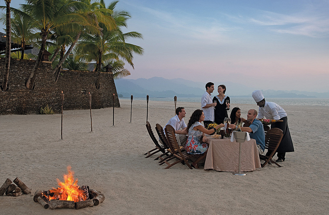 I want to party with my friends on our own private beach.