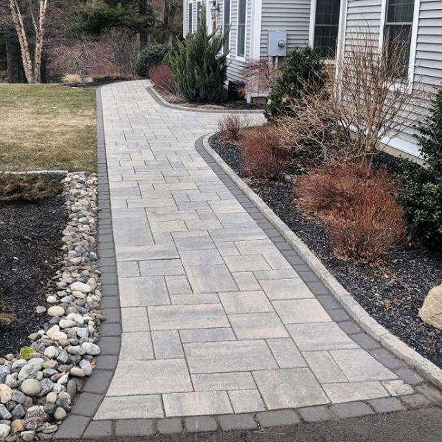 """J & D Landscaping on Instagram: """"Were excited to be back to work for the 2019 Hardscape season! Check out this project completed early last year in Southington CT.…"""""""