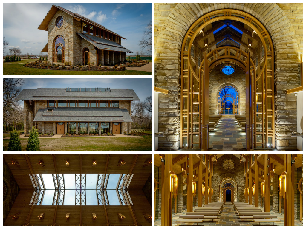 J.B. Hunt Memorial Chapel located in Rogers, AR. One of ...
