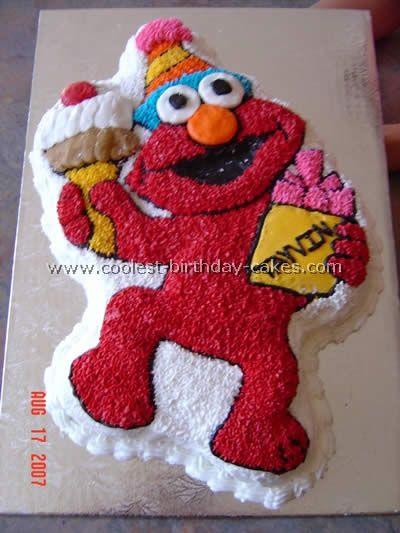 Coolest Elmo Birthday Cakes Elmo birthday cake Elmo birthday and Elmo