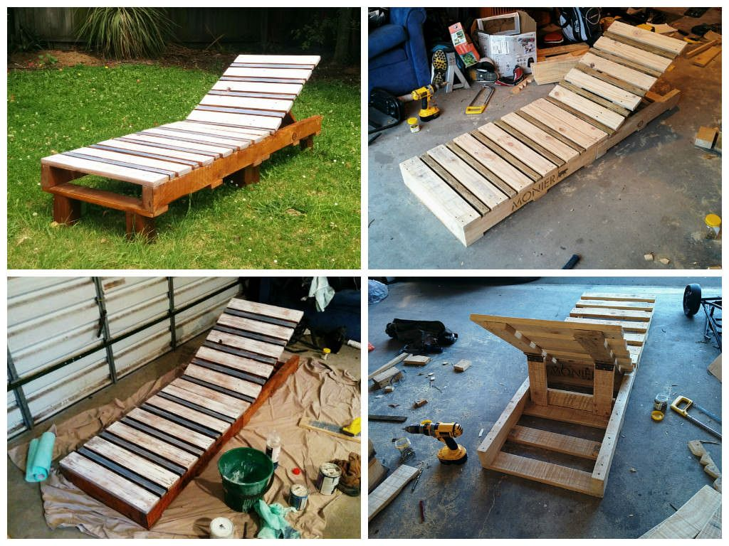 Garden Ideas Made From Pallets pallet garden lounger • pallet ideas | pallet furniture, pallets