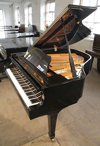 A 1995 Yamaha G1 Baby Grand Piano For Sale With A Black Case And Spade Legs Piano Has Three Pedals And Eighty Eight No Piano For Sale Piano Yamaha Grand Piano