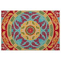 Sonoma Goods For Life Medallion Indoor Outdoor Rug What I