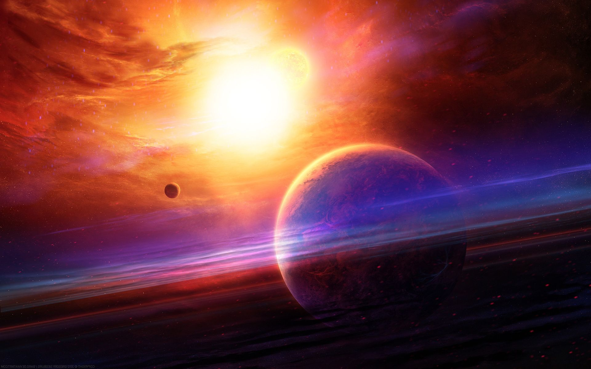 Planets Wallpaper | Planets sun stars Wallpapers Pictures ...