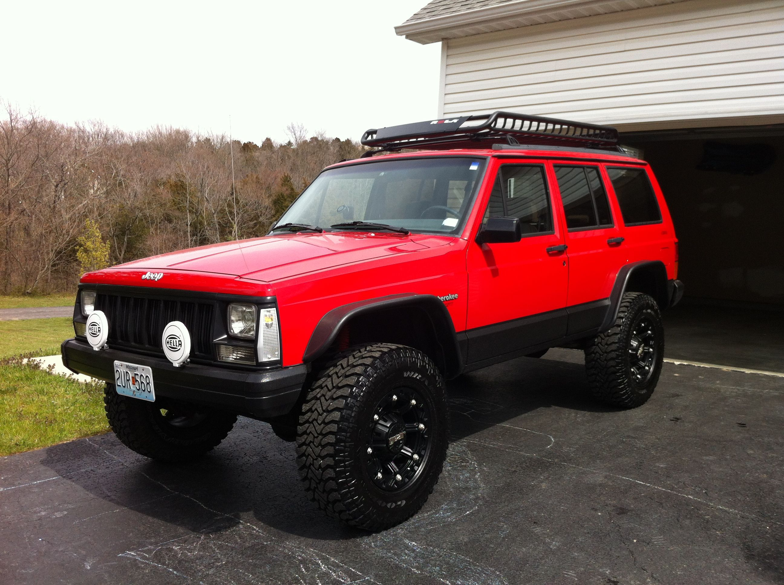 Exact Jeep I M Getting 1993 Cherokee In Red Possible Present To Myself At Platinum Leader Rank Autos Camionetas Cherokee