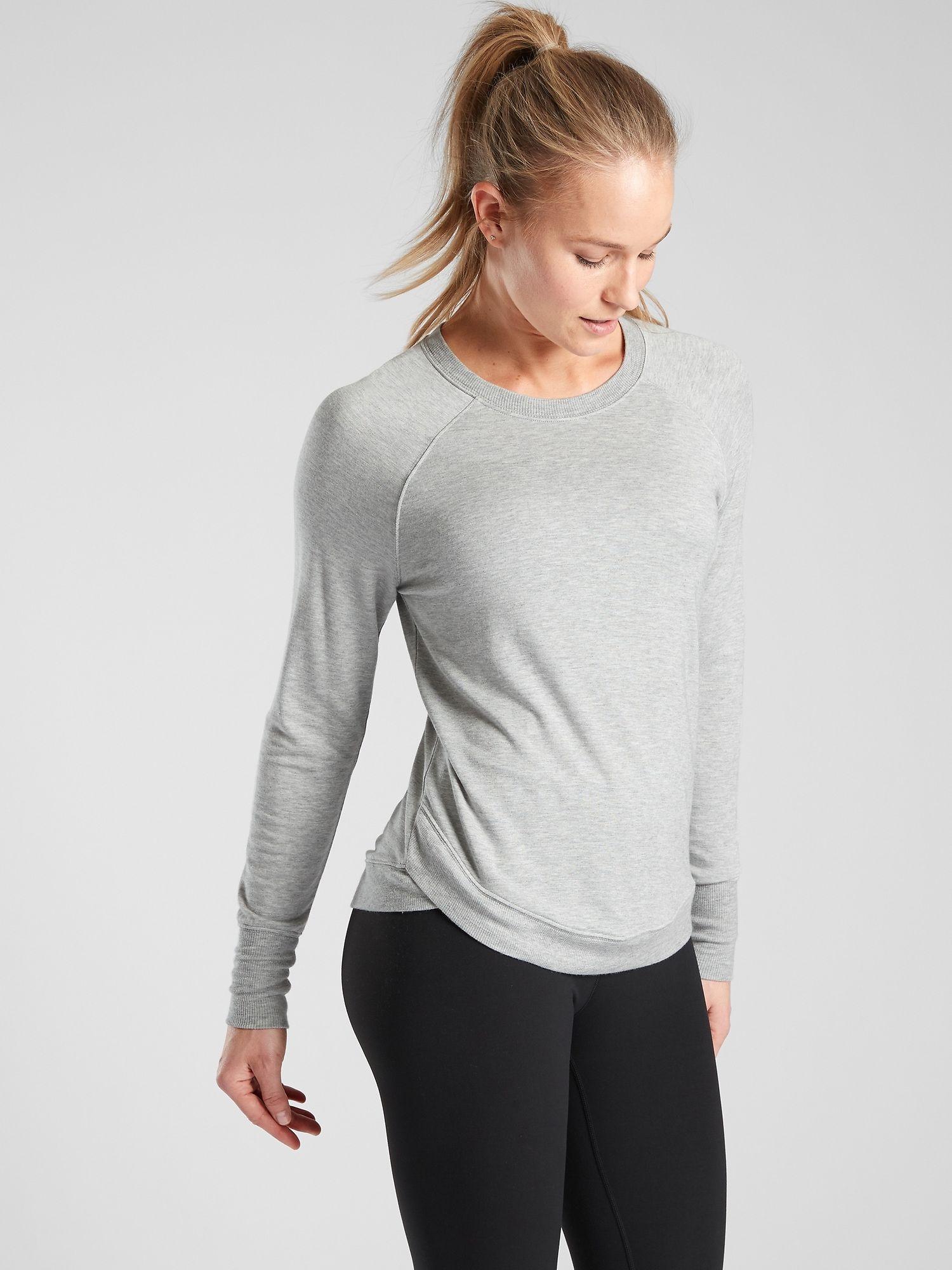 Mindset Sweatshirt Athleta Sweatshirts Workout Tops For Women Sweatshirts Women [ 2000 x 1500 Pixel ]