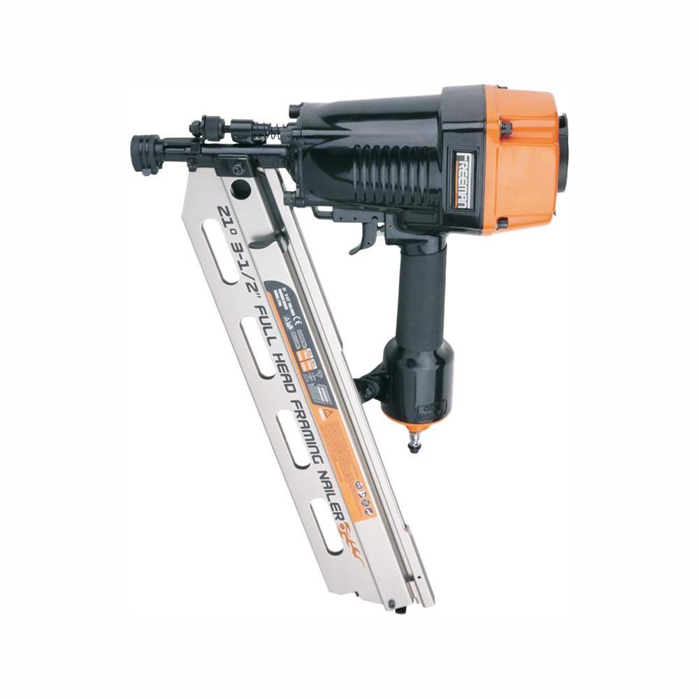 3-1/2in Framing Nailer Pneumatic Nail Gun 21 Degree Round Head Air Tool NEW  MY Tools & Workshop Equipment Nailers & Staple Guns