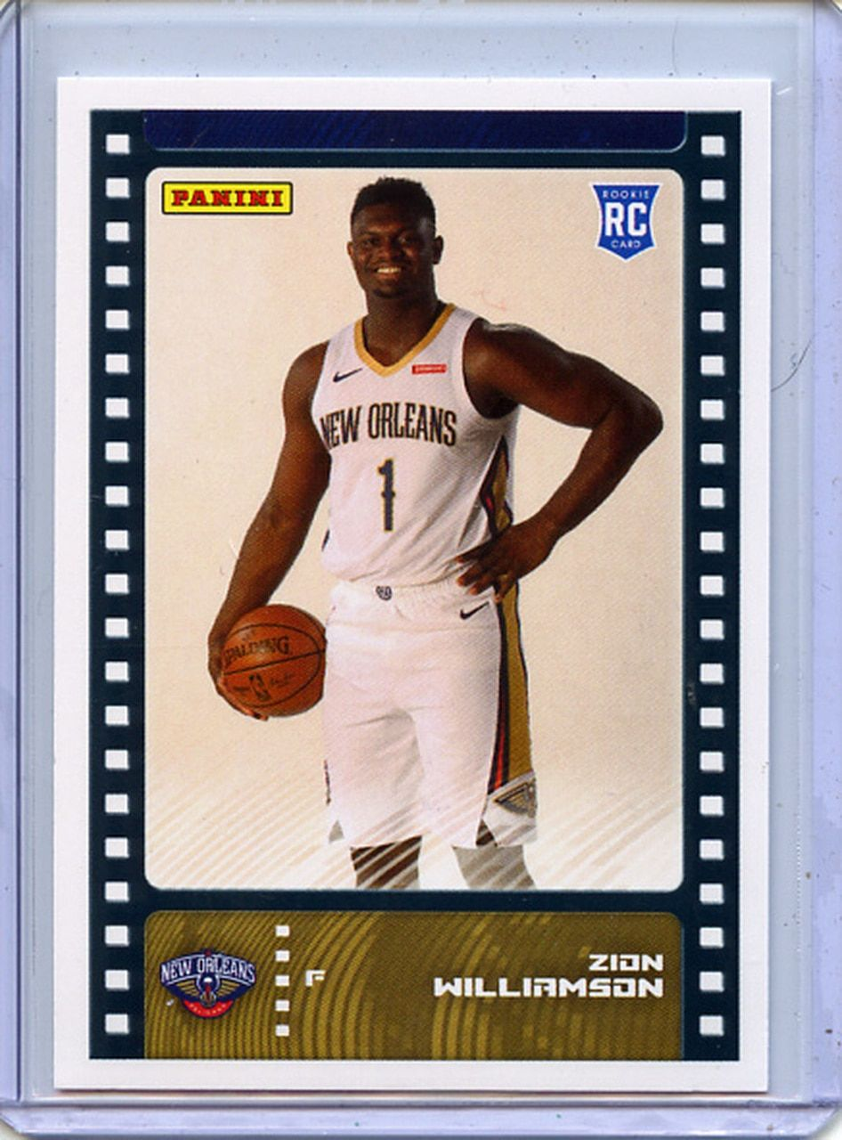 Zion Williamson 2019 20 Sticker Card Collection 81 Card In 2020 Cards Basketball Pictures Basketball Cards