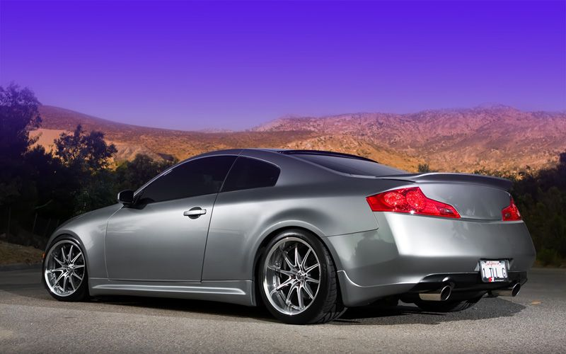 Infiniti G35 On Volk Gt F Wheels Cars All Makes And Models