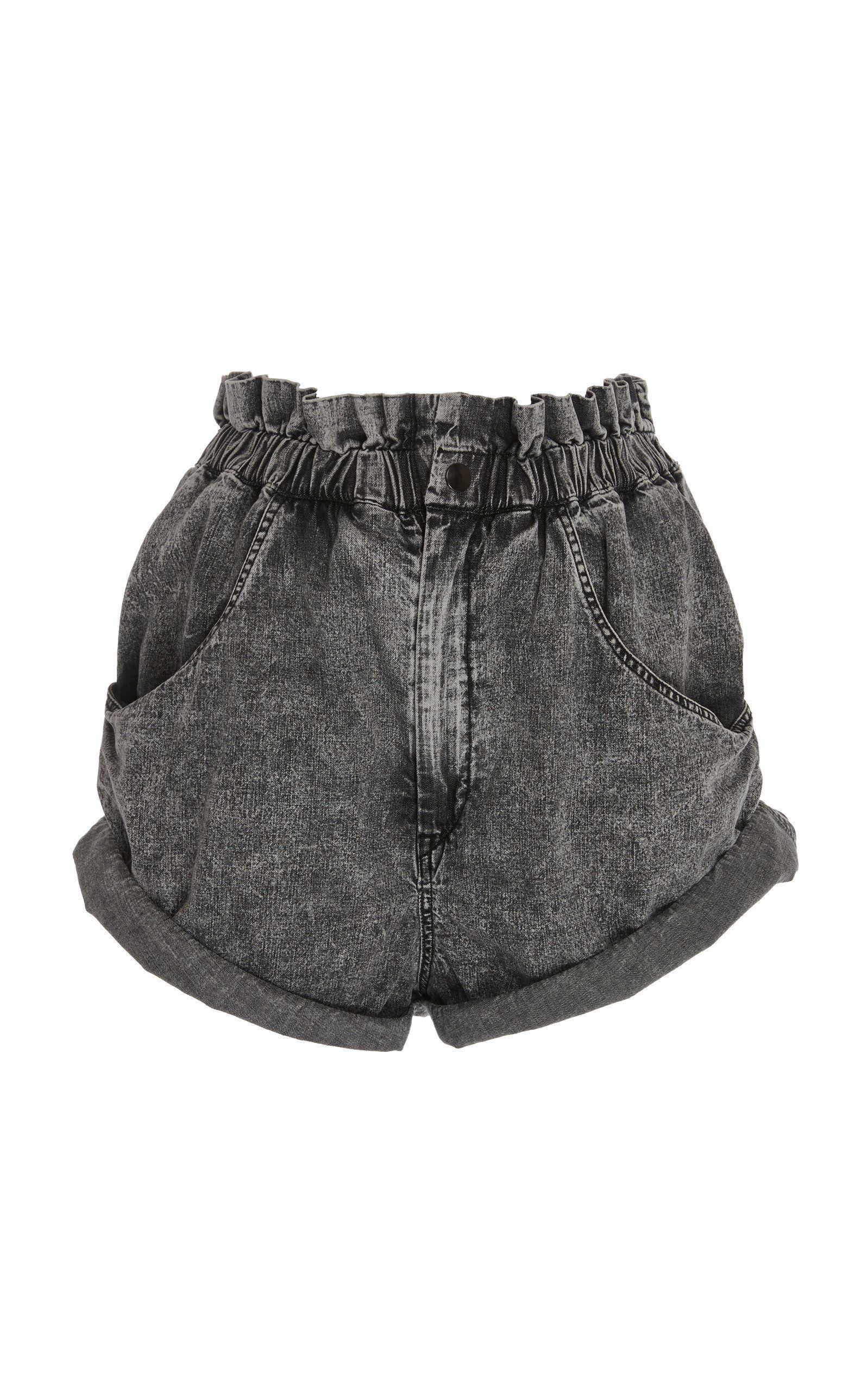 9c14ac16bf Lucio High-Rise Denim Shorts by ISABEL MARANT for Preorder on Moda Operandi