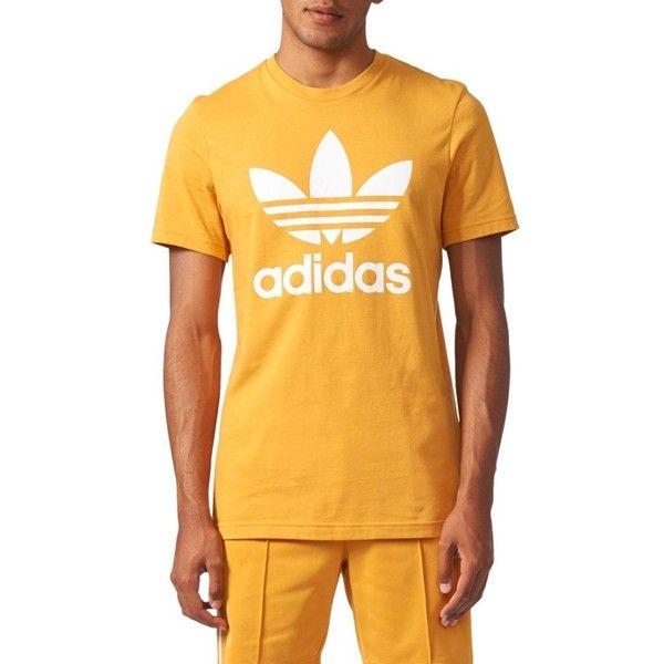 1c9478deb Men's Adidas Originals Trefoil Graphic T-Shirt ($30) ❤ liked on Polyvore  featuring men's fashion, men's clothing, men's shirts, men's t-shirts, mens  t ...