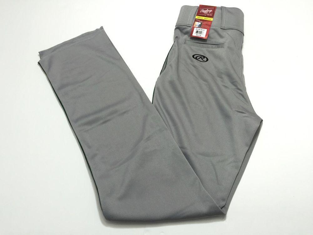 Rawlings Mens M Pro Dri Baseball Pants Medium Gray Bpu350 Bg 89 New Nwt Rawlingssportinggoods Pants Softball Outfits Baseball Pants Shoe Accessories