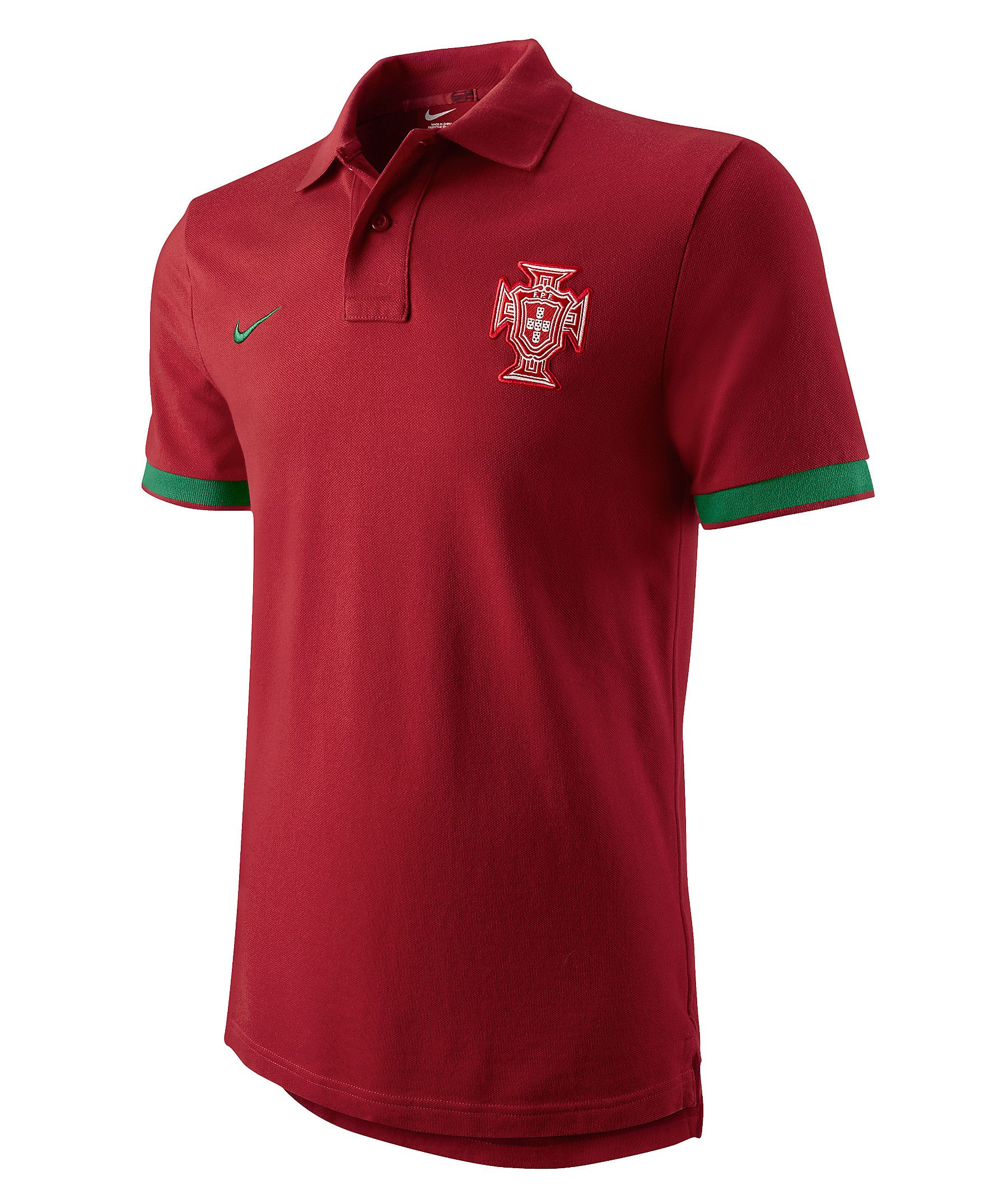 96502a3989d5c4 T-Shirt Portugal Authentic Polo by Nike #sports #soccer #engelhorn ...