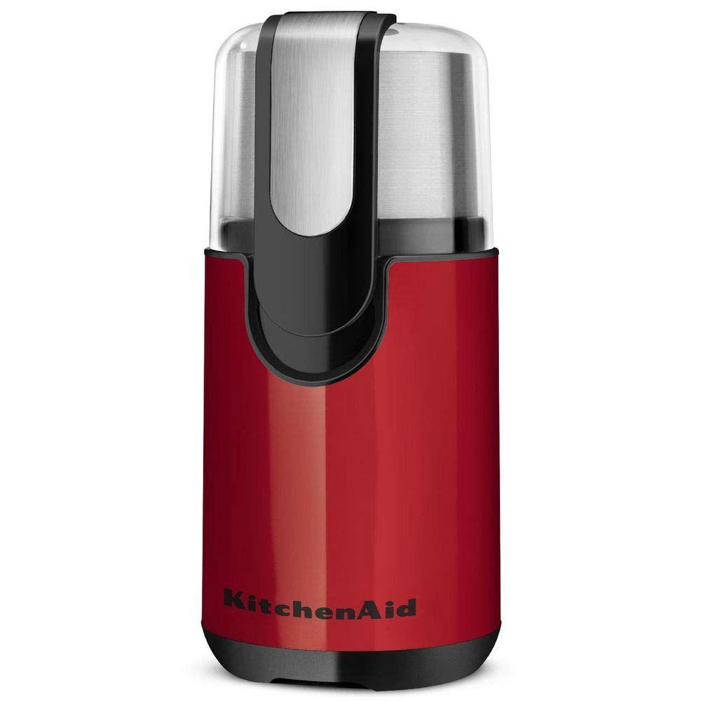 Kitchenaid bcg111er blade coffee grinder empire red