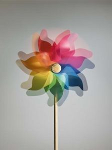 How To Make Whirligigs Garden Pinwheels Plastic Canvas Crafts