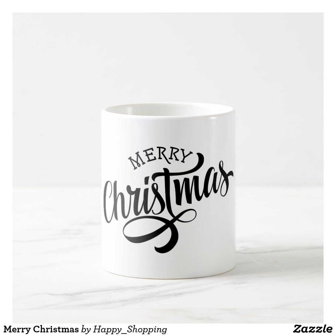 Merry Christmas Coffee Mug | Zazzle.com