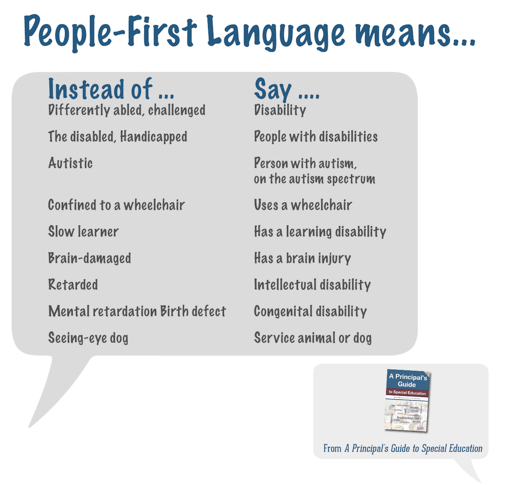 How Language Of Special Education Is >> Using Positive Kid First Language Is So Important From The
