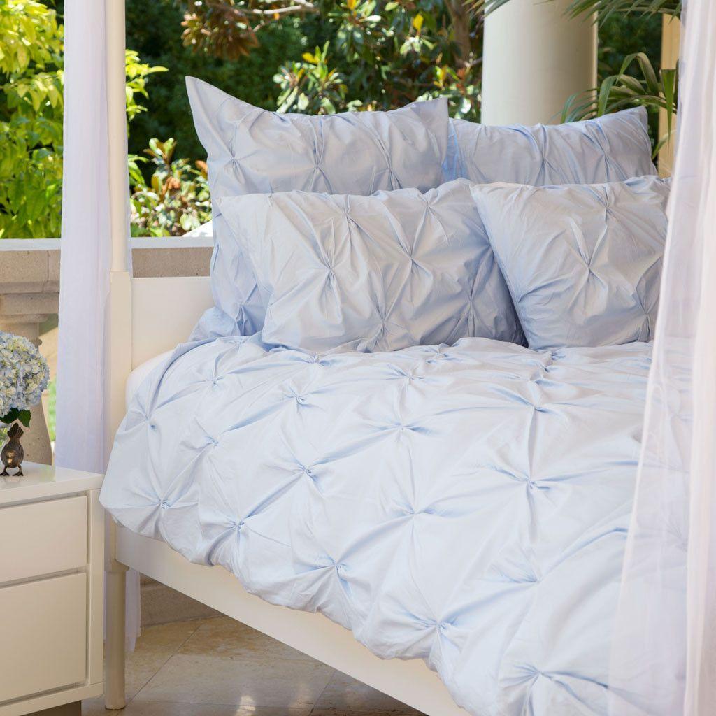 The Valencia Light Blue Pintuck Light Blue Comforter Light Blue Bedroom Light Blue Bedding