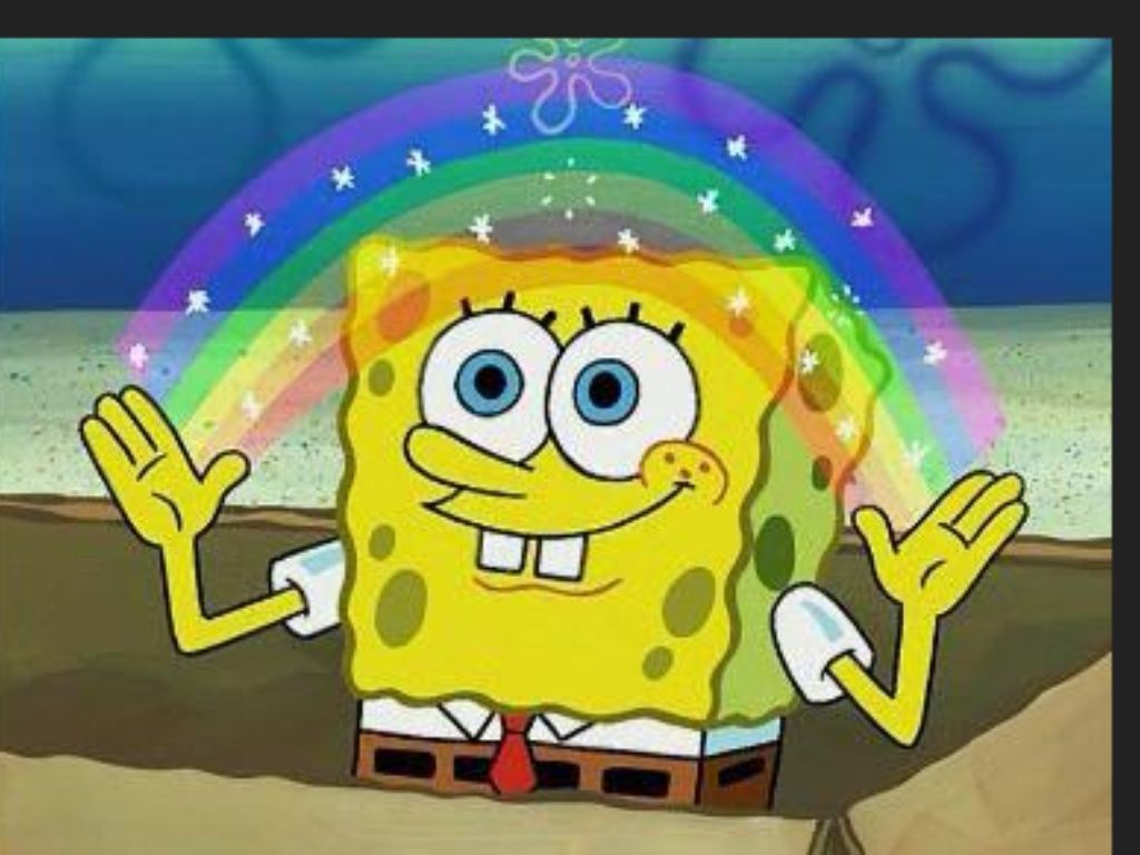 Arc en ciel spongebob pinterest