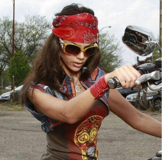 bandanas for women | Motorcycles and stuff | Lady biker