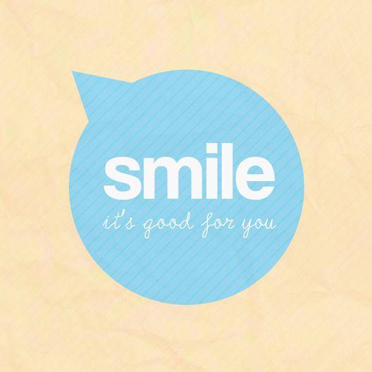 Sonreír es bueno para ti