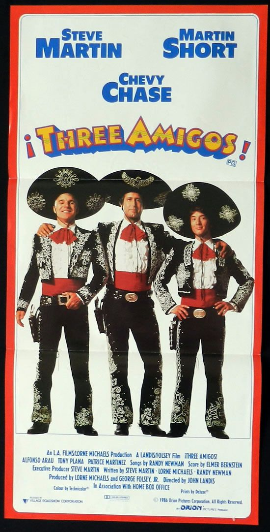 The Three Amigos Free Online