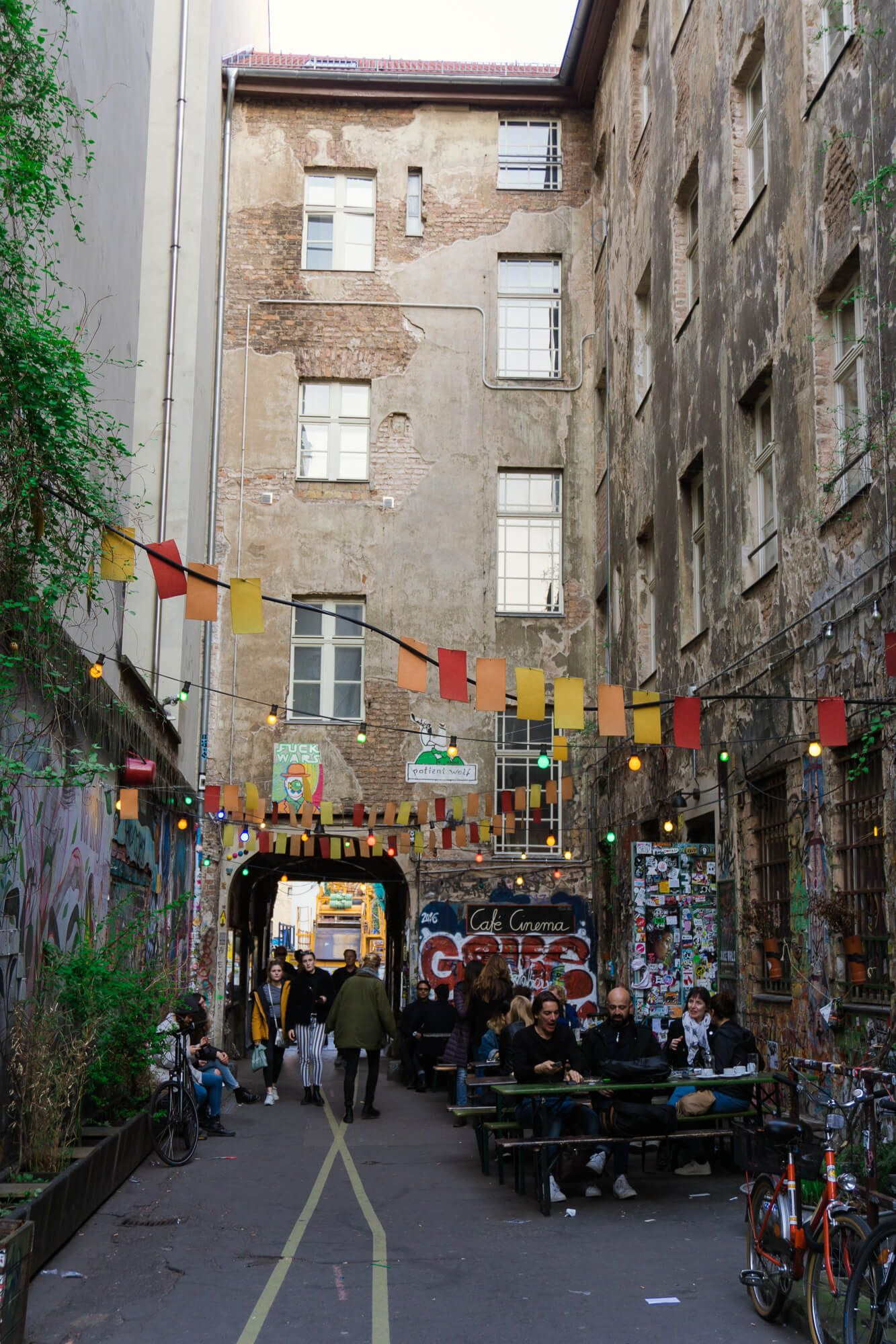 Street art à Berlin Haus Schwarzenberg