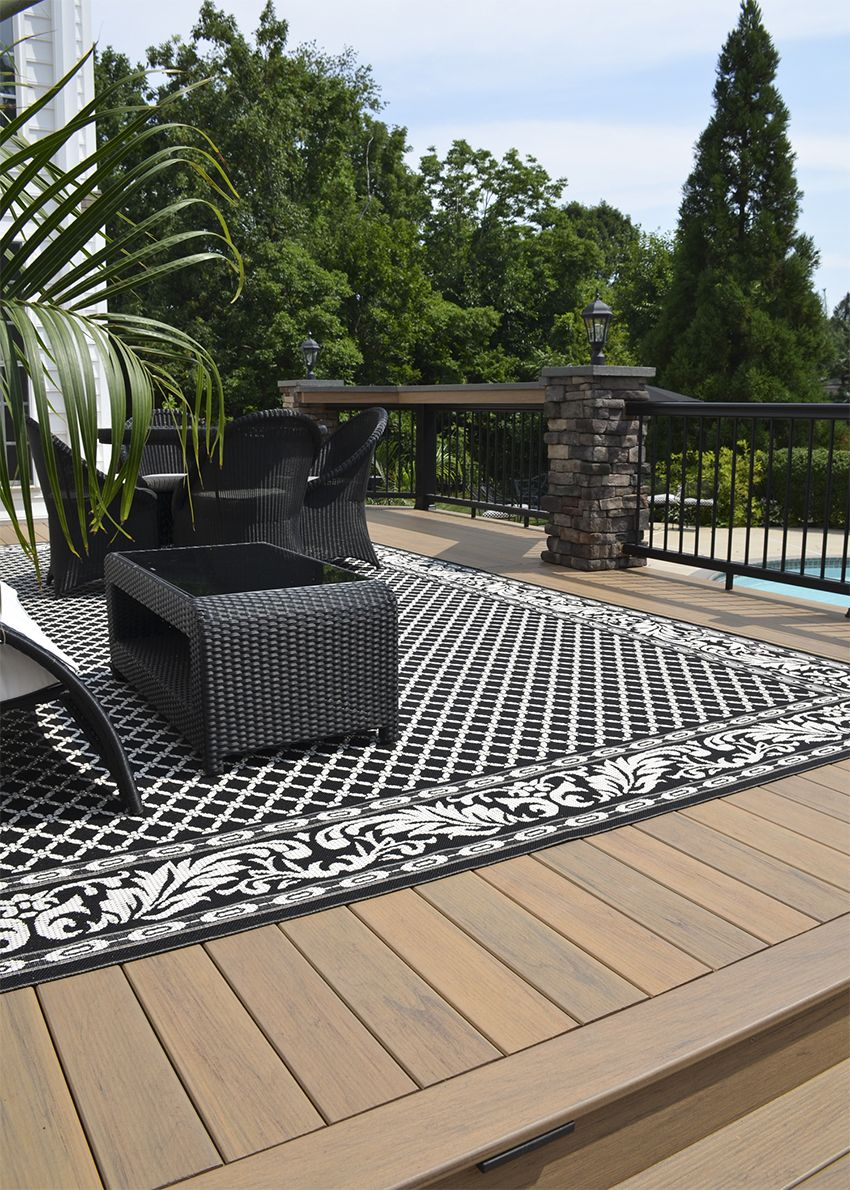 Tigerwood Composite Deck Composite Decking Timbertech Deck