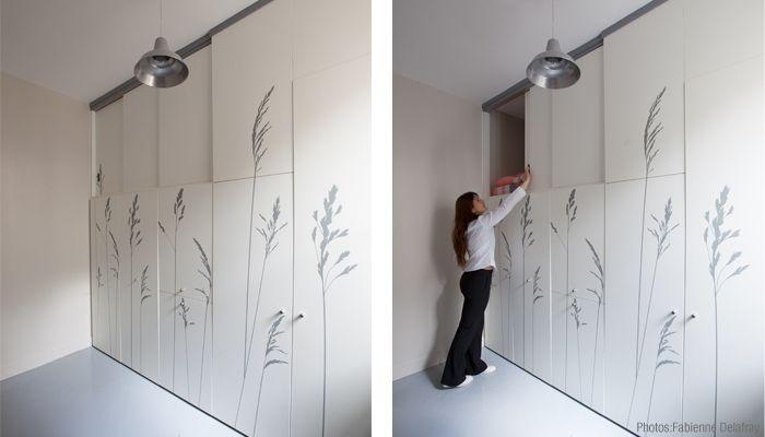 Wonen in een kleine studio u functioneel decoratie ontwerp alles