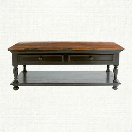 View The Cobrizo Coffee Table From Arhaus Exploding With The Fiery Radiance And Distinctive Shade