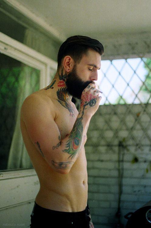 guys with nice tattoo fucking