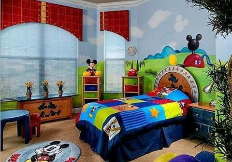 Pin By Shannon Burrelli On Noah Mickey Mouse Bedroom Disney