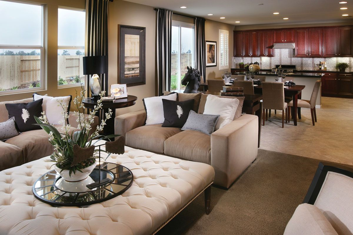 Black Brown Cream Gray Living Room Home Sweet Home Pinterest Salas