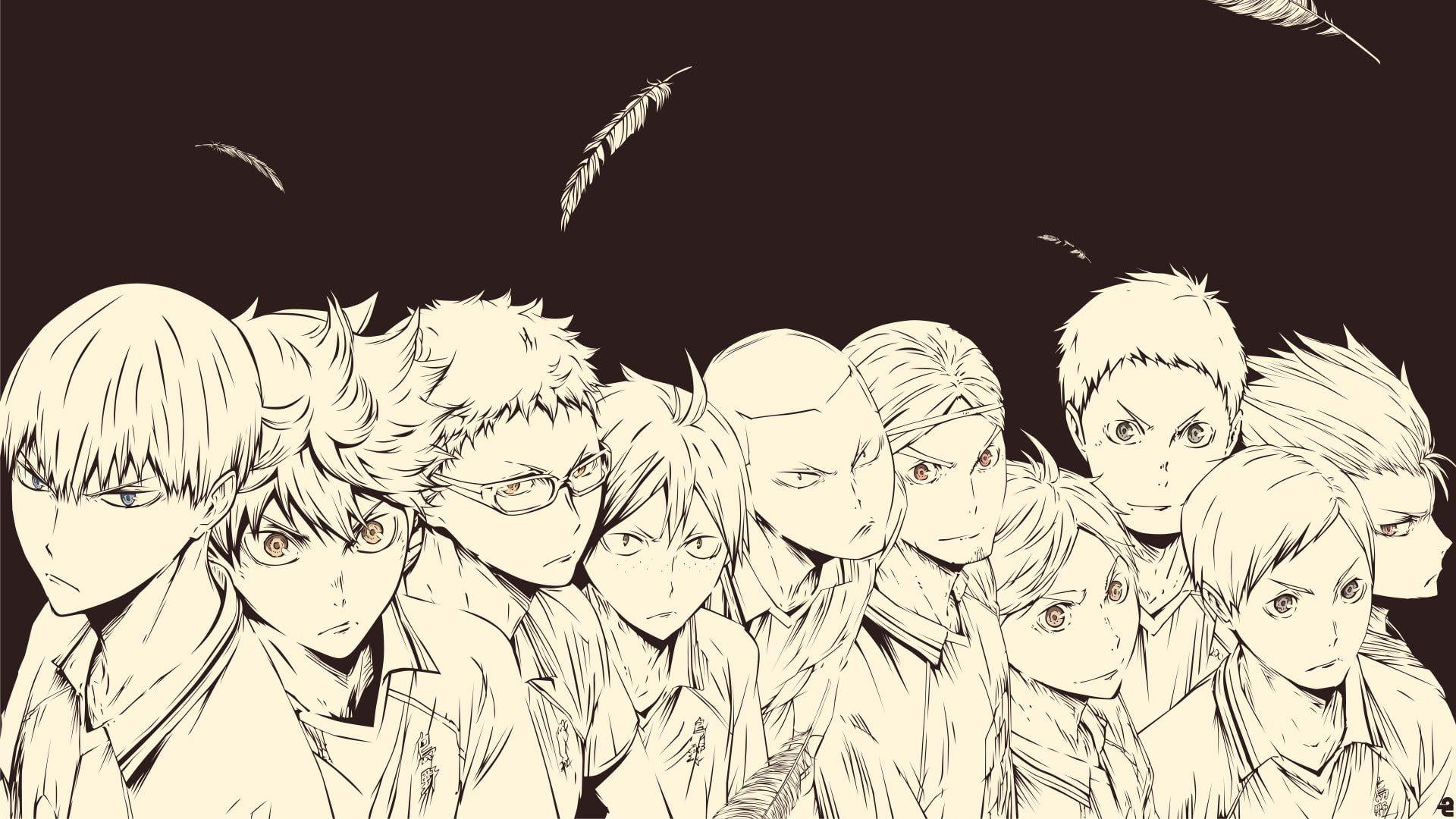 Anime Haikyu Asahi Azumane Chikara Ennoshita Daichi Sawamura Haikyuu Haikyu Kei Tsukishima Kōshi Sugawara Ryunosuke Ta Haikyuu Wallpaper Haikyuu Anime