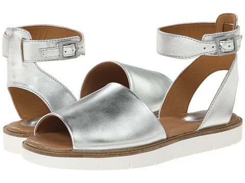 7bbe085b4a4 Clarks Lydie Hala Silver Leather - Zappos.com Free Shipping BOTH Ways